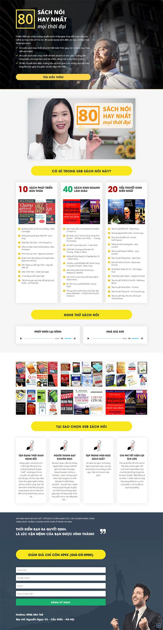 Trang chủ mẫu landing page ebook 01