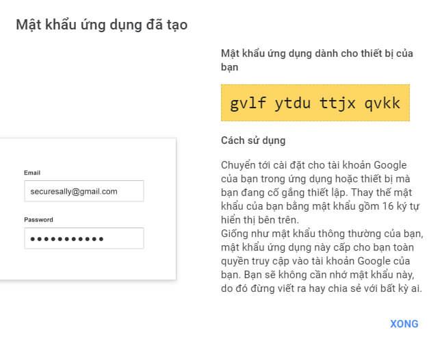 Cách bật xác minh 2 bước và tạo mật khẩu ứng dụng cho Gmail